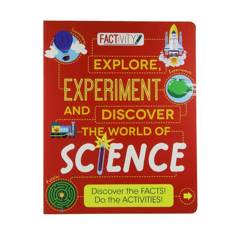 Parragon Books Explore Experiment and Discover The Word of Science by Factivity Buku Edukasi Anak