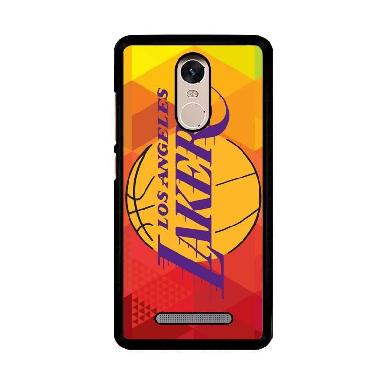 Flazzstore La Lakers Basketball Team Logo Z2991 Custom Casing for Xiaomi Redmi Note 3 or Note 3 Pro