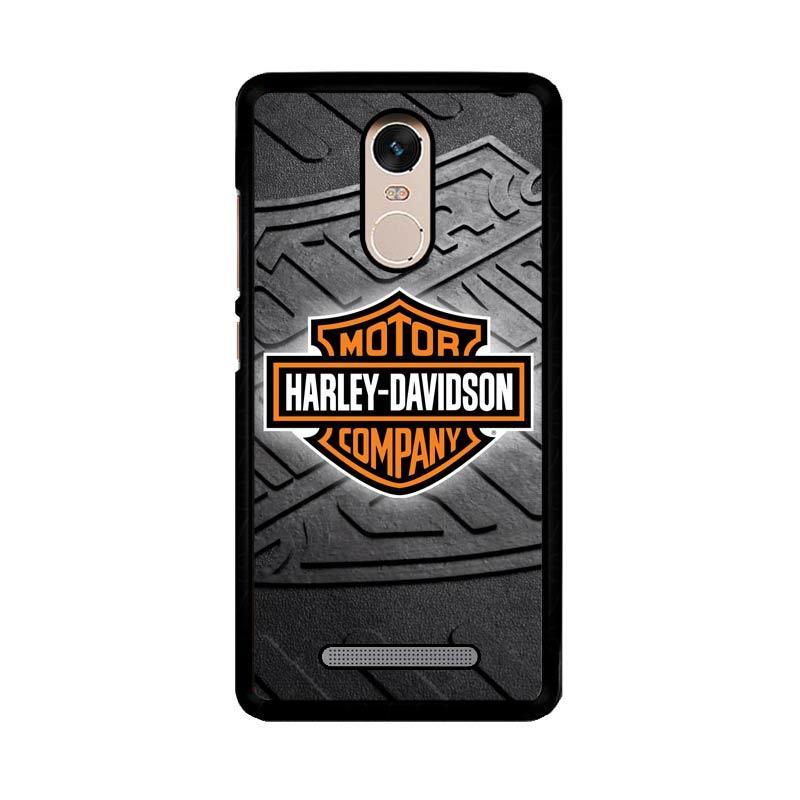 Flazzstore Harley Davidson Logo Z3250 Custom Casing for Xiaomi Redmi Note 3 or Note 3 Pro