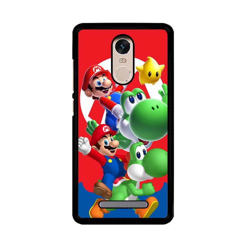 Flazzstore Mario Bros Yoshi Z3461 Custom Casing for Xiaomi Redmi Note 3 or Note 3 Pro