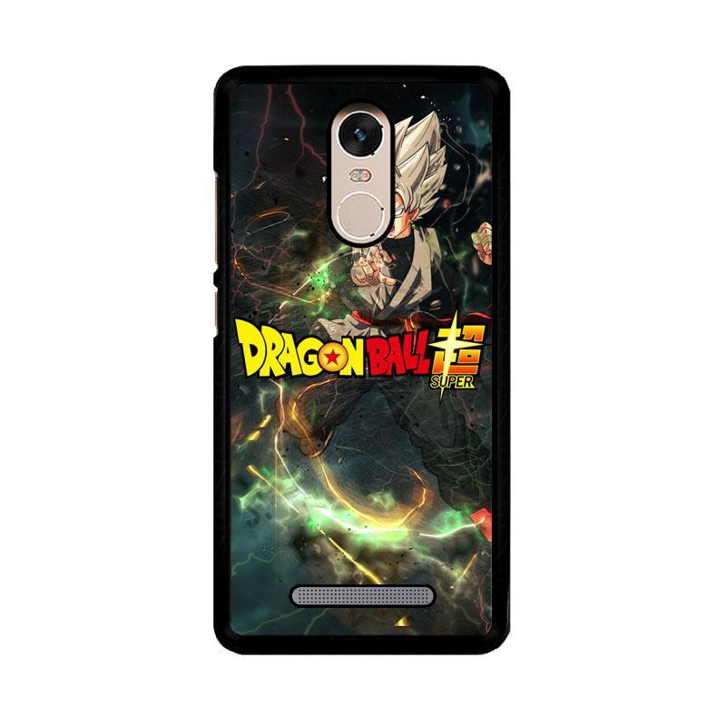 Flazzstore Black Goku Dragon Ball Zuper Z3964 Custom Casing for Xiaomi Redmi Note 3 or Note 3 Pro