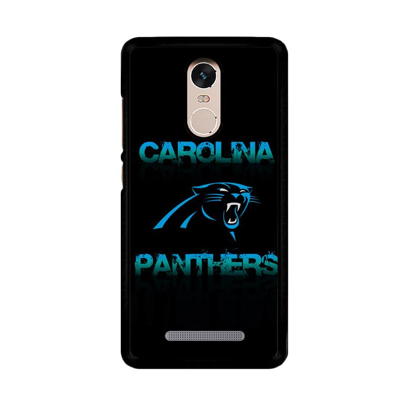 Flazzstore Carolina Panthers Logo Z4142 Custom Casing for Xiaomi Redmi Note 3 or Note 3 Pro
