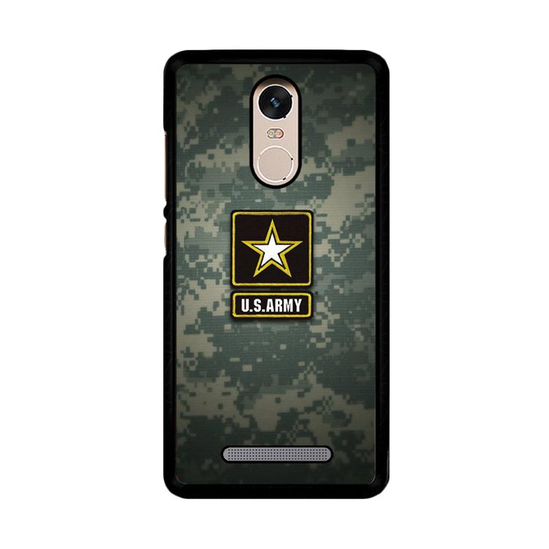 Flazzstore Us Army Z4176 Custom Casing for Xiaomi Redmi Note 3 or Note 3 Pro