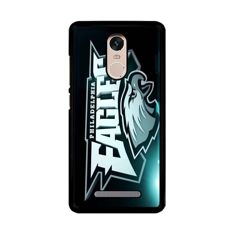 Flazzstore Philadelphia Eagles Logo Z4254 Custom Casing for Xiaomi Redmi Note 3 or Note 3 Pro