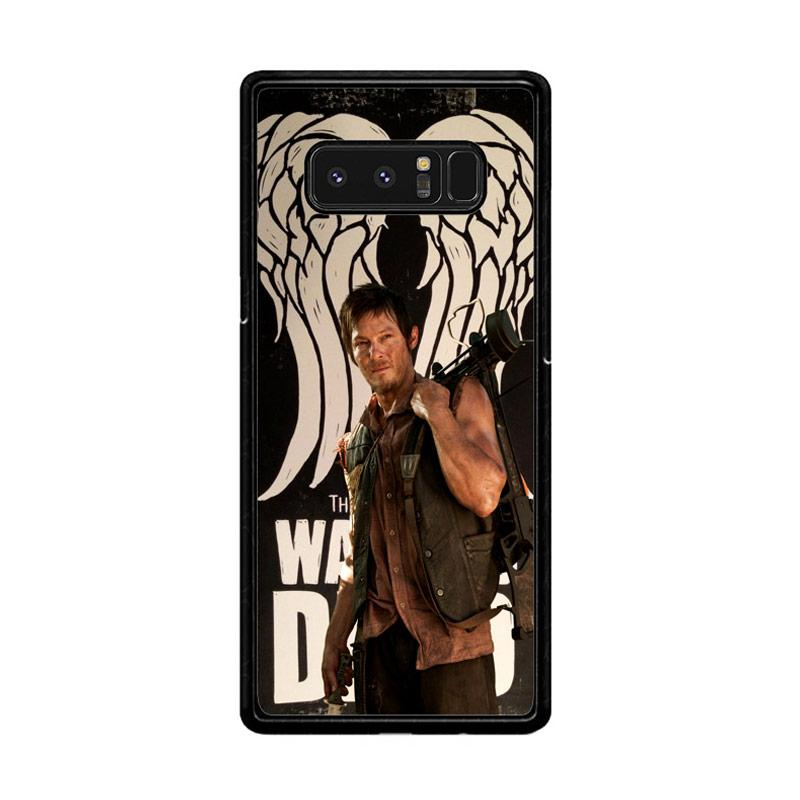 Flazzstore The Walking Dead Daryl Dixon Wings Z2791 Custom Casing for Samsung Galaxy Note8