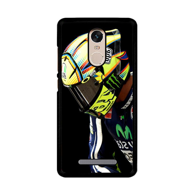 Flazzstore Valentino Rossi Helmet Z4343 Custom Casing for Xiaomi Redmi Note 3 or Note 3 Pro