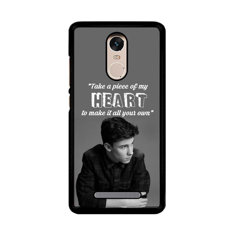Flazzstore Shawn Mendes Song Z4457 Custom Casing for Xiaomi Redmi Note 3 or Note 3 Pro