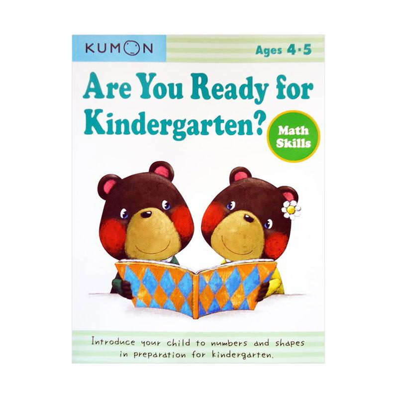 KUMON Genius Are You Ready for Kindergarten Math Skills Buku Anak