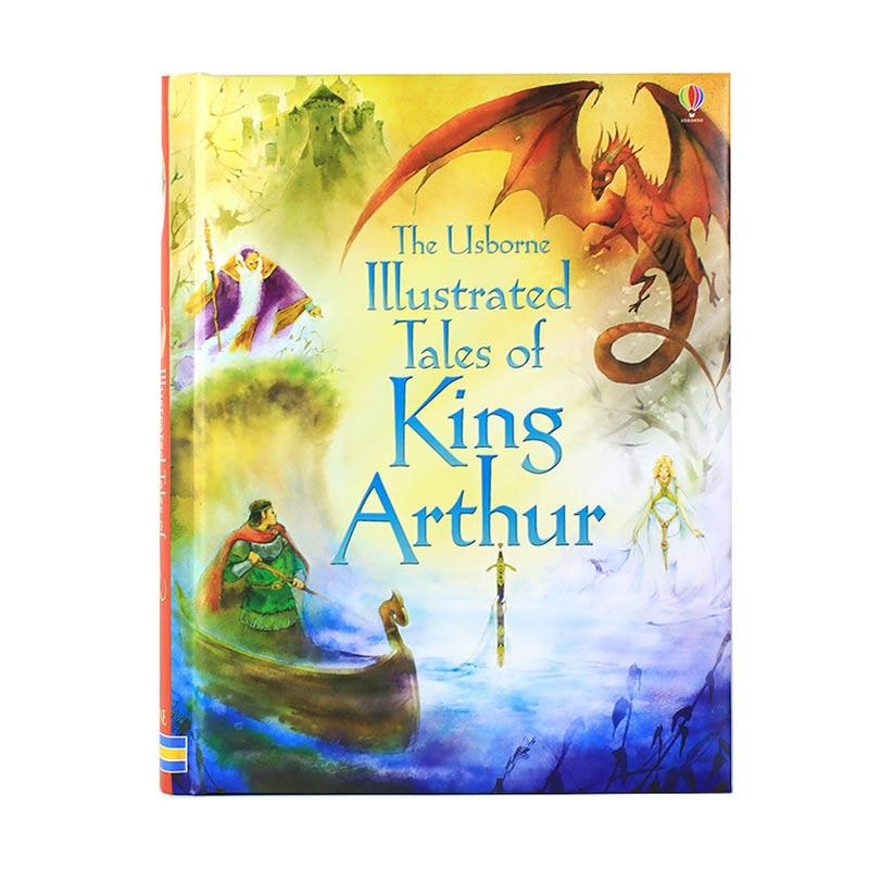 Usborne Books Illustrated Tales Of King Arthur Buku Anak