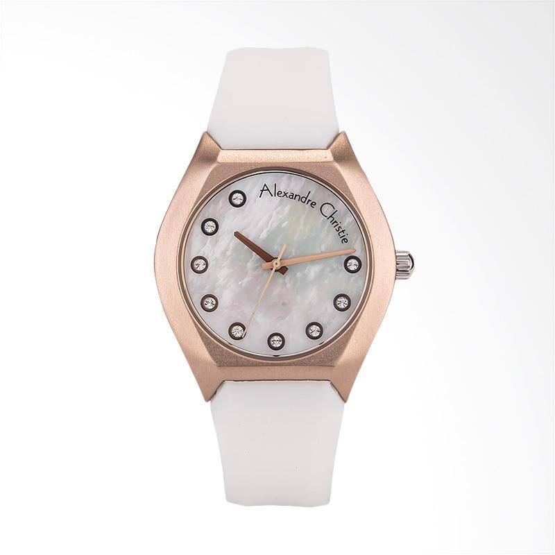 Alexandre Christie Classic AC 2702 LH RRGMS Jam Tangan Wanita - White