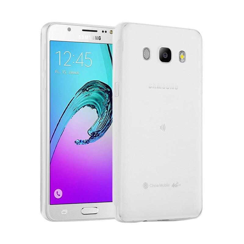 Lize Design Case Slim Anti Glare Silikon Casing for Samsung Galaxy J7 2016 J710 - Putih