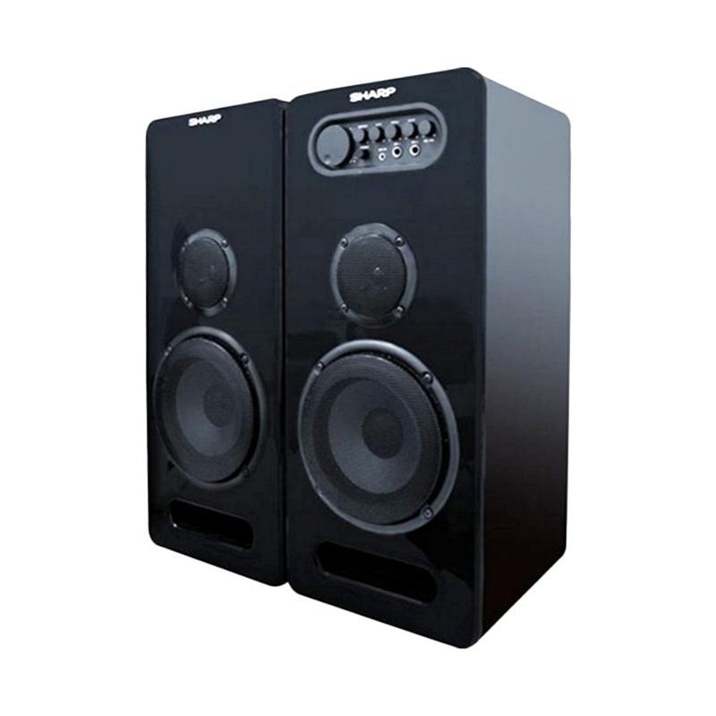 Jual SHARP CBOX-G600UBL 2 Speaker Active - Hitam [Free Ongkir Jabodetabek] Online