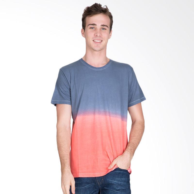 Tendencies Mix Dye T-Shirt Pria - Blue Red
