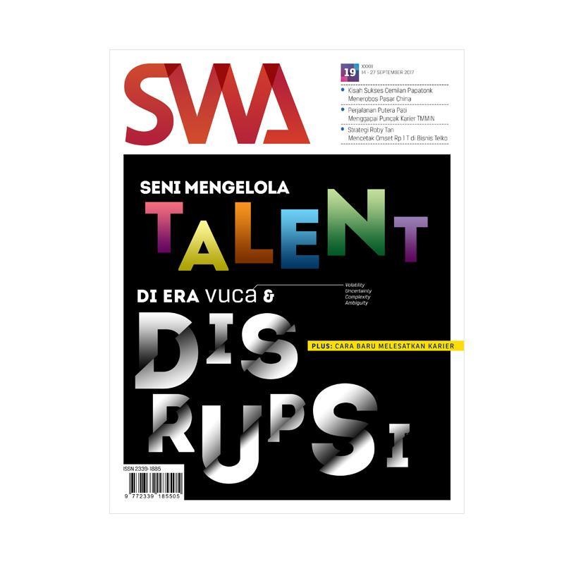 SWA Edisi 19-2017 Seni Mengelola Talent Majalah