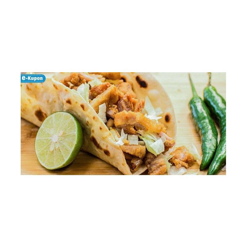 harga Paket B - Buy 2 Taco Ayam Sambal Matah Get 1 Free Taco Ayam Telur Asin E-Voucher Blibli.com