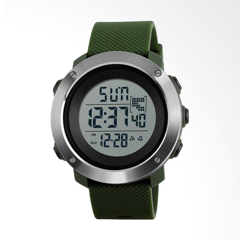 Skmei Digital Jam Tangan Unisex - Green [DG1267/ Size Small]