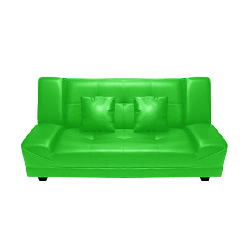 harga FCENTER Lantana Sofa Bed - Green [Pulau Jawa] Blibli.com