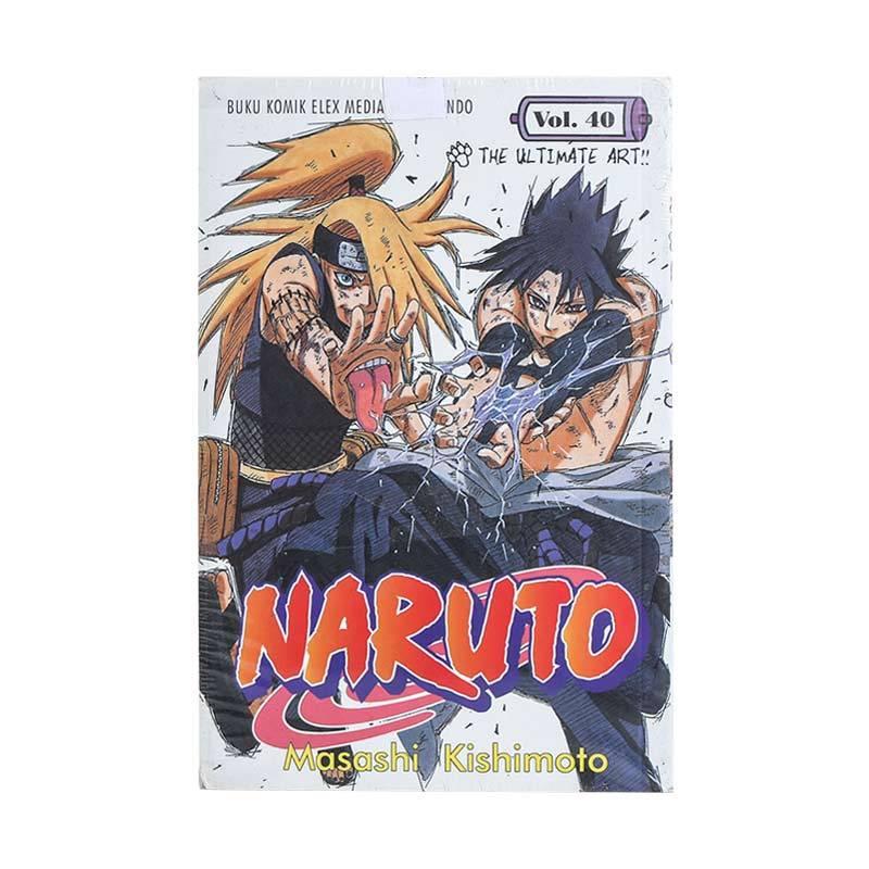 Elex Media Komputindo Naruto 40 200065162 by Masashi Kishimoto Buku Komik