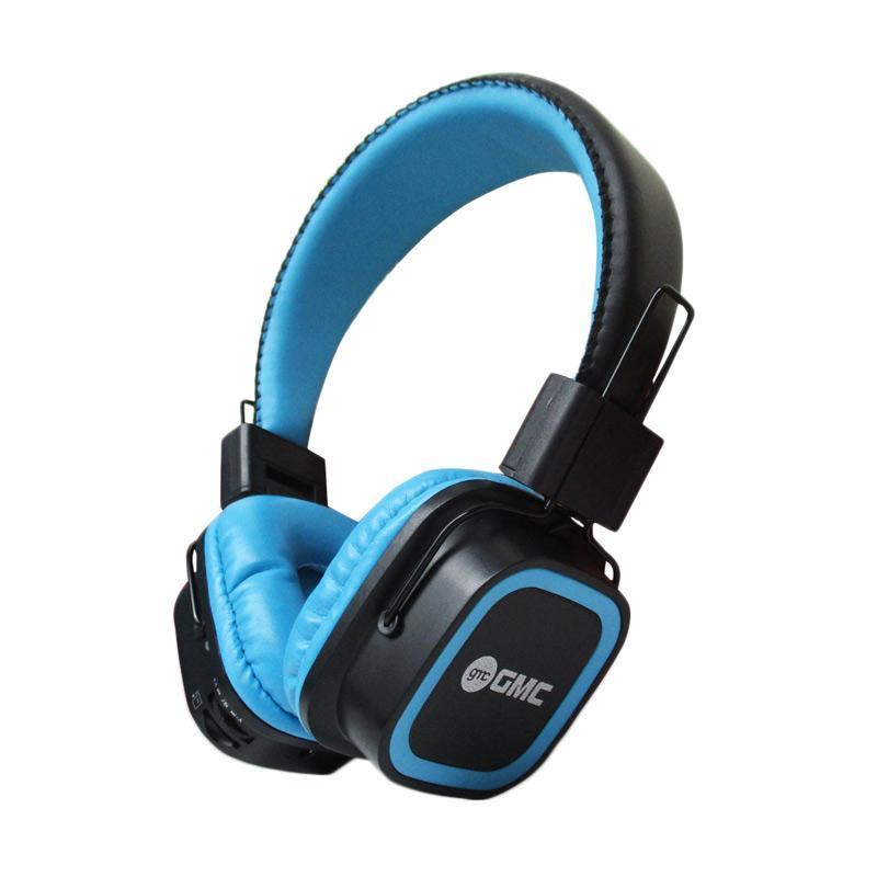 GMC 898B Headset Bluetooth Support Handsfree - Biru