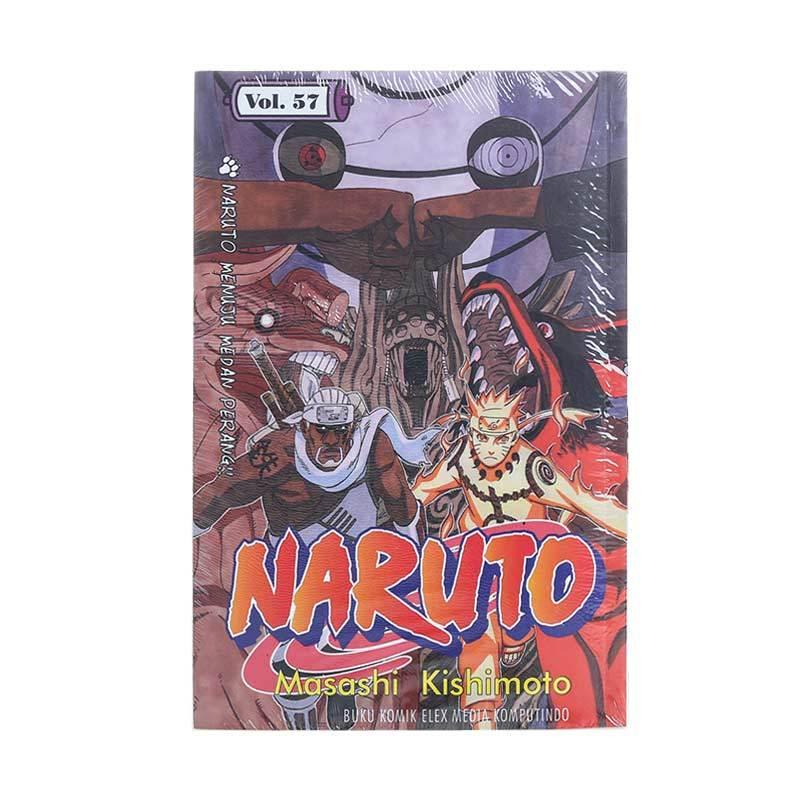 Elex Media Komputindo Naruto 57 201874953 by Masashi Kishimoto Buku Komik