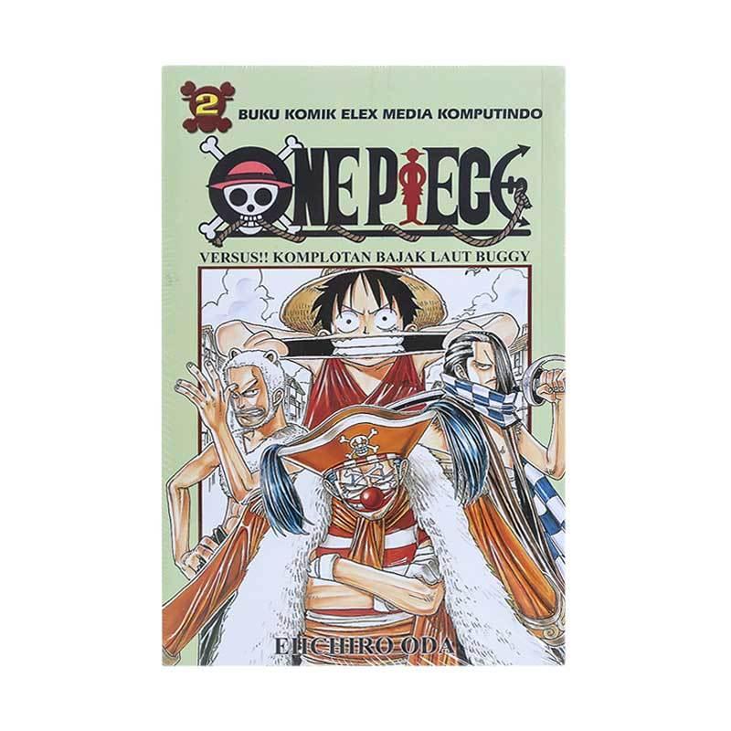 Elex Media Komputindo ONE PIECE 02 200020399 by Oda Eichiro Buku Komik