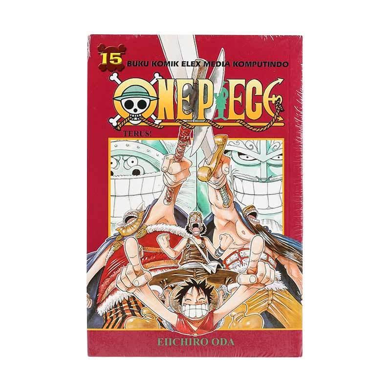 Elex Media Komputindo One Piece 15 200020090 by Eiichiro Oda Buku Komik