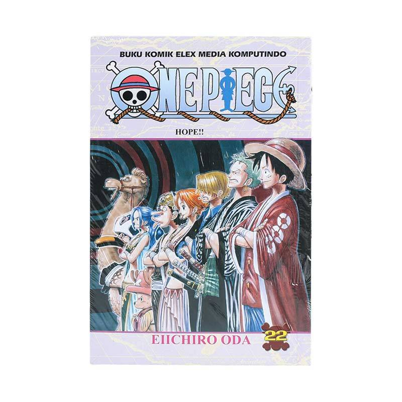 Elex Media Komputindo ONE PIECE 22 200019725 by Eiichiro Oda Buku Komik