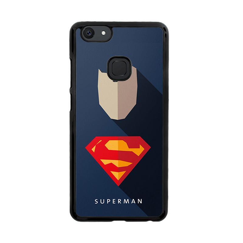 Flazzstore Superhero Superman O0247 Custom Casing for Vivo V7