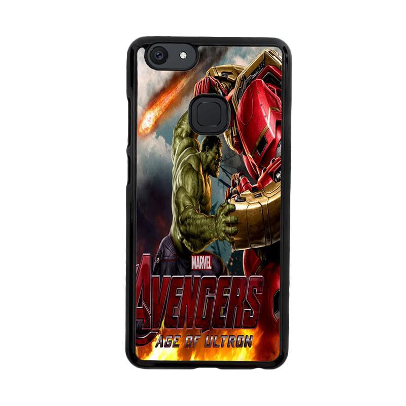 Flazzstore Hulk Vs Hulkbuster Avengers Age Of Ultron Z0742 Custom Casing for Vivo V7