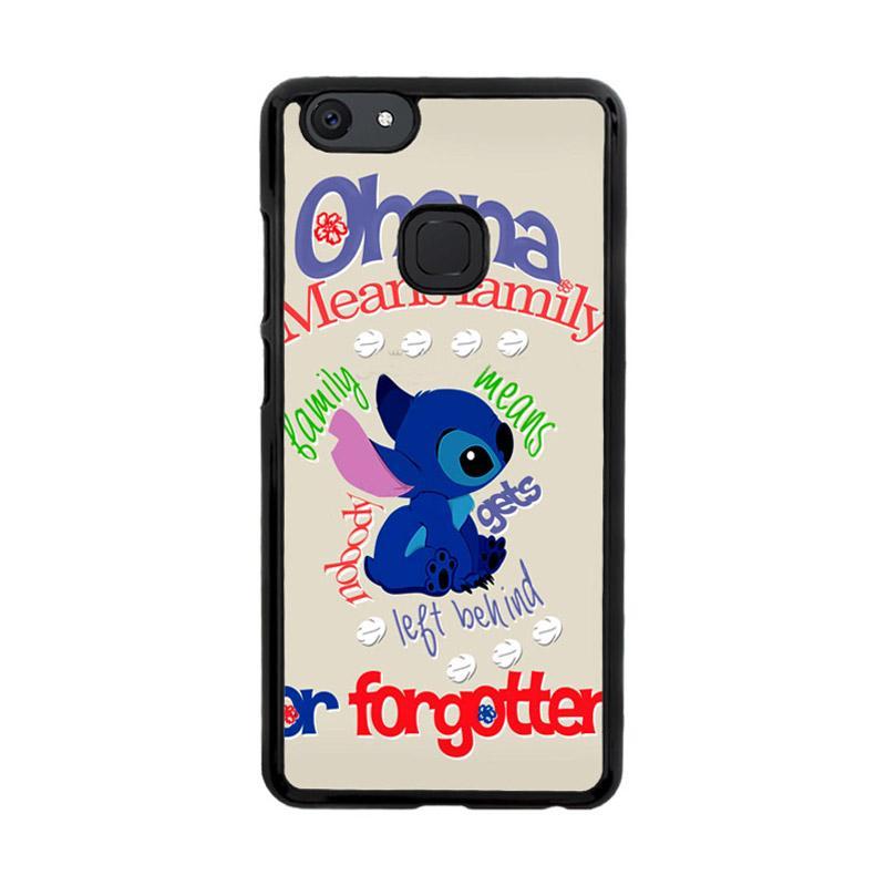 Flazzstore Stitch Disney Ohana Means Family F0632 Custom Casing for Vivo V7