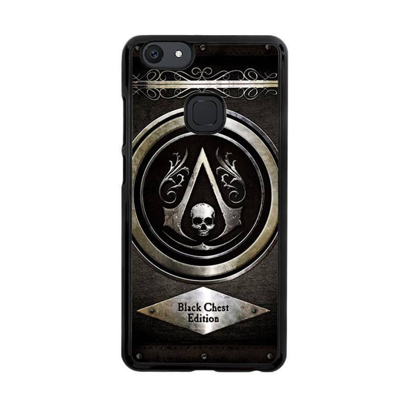 Flazzstore Assassins Creed Black Flag Logo Z0067 Custom Casing for Vivo V7