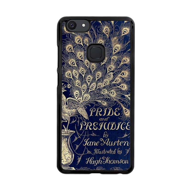 Flazzstore Cover Book Jane Austen Z0111 Custom Casing for Vivo V7