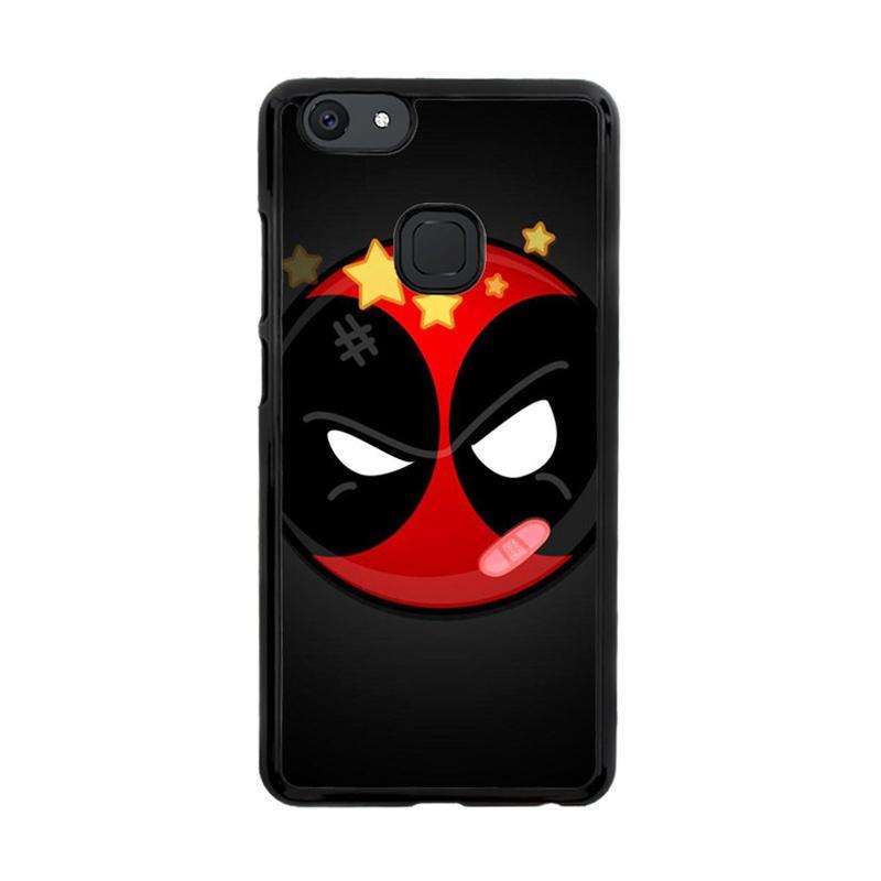 Flazzstore Deadpool Superhero Logo Z0162 Custom Casing for Vivo V7