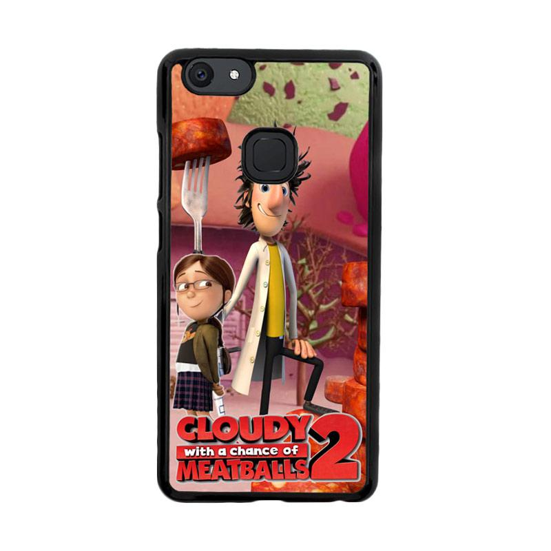 Flazzstore Cloudy With A Chance Of Meatballs D0283 Custom Casing for Vivo V7