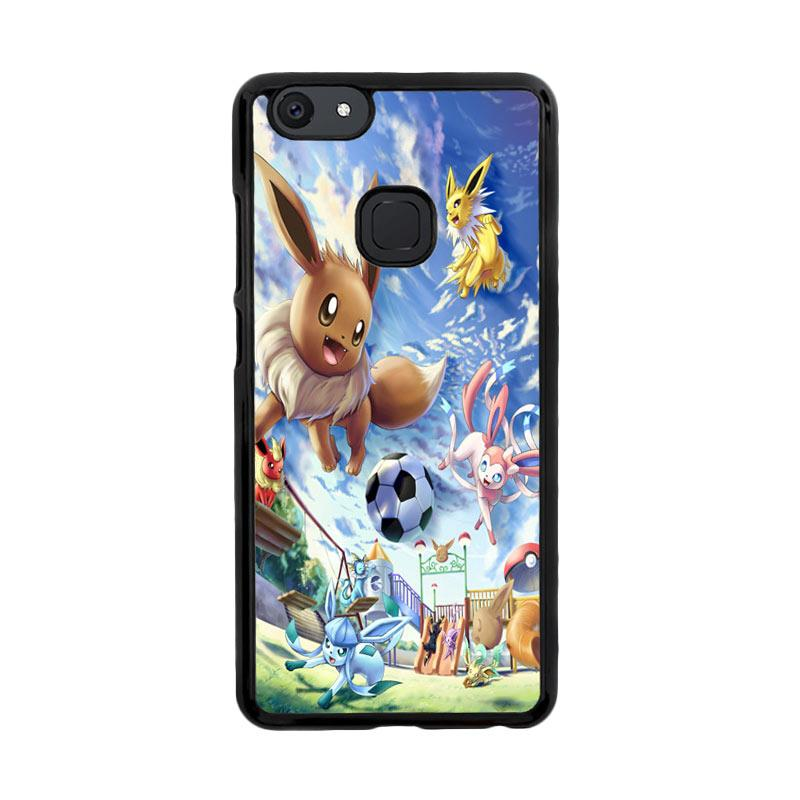 Flazzstore Eevee And Umbreon And Espeon X0915 Custom Casing for Vivo V7