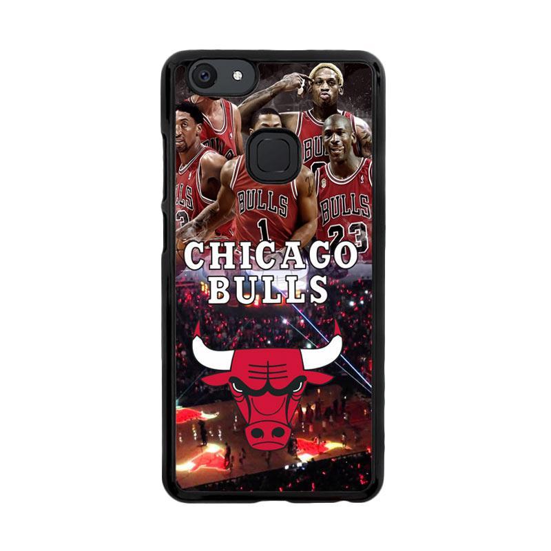Flazzstore Chicago Bulls Walpaper X3168 Custom Casing for Vivo V7