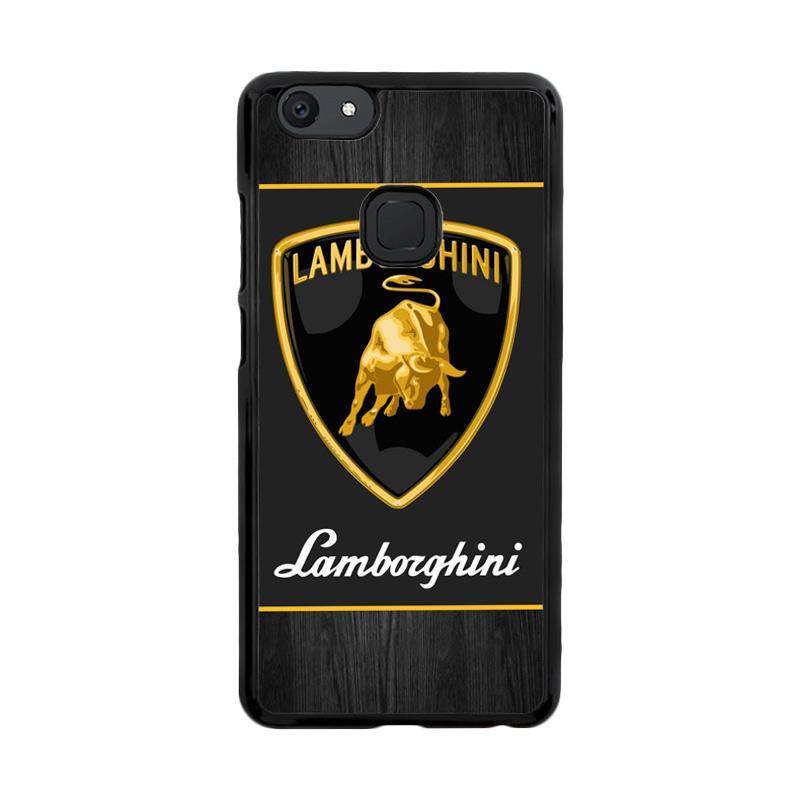 Flazzstore Lamborghini Logo X3235 Custom Casing for Vivo V7