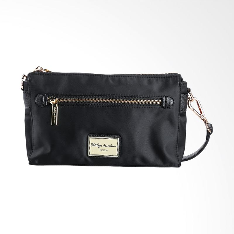 harga Phillipe Jourdan THA 142 April Hand Bag - Black Blibli.com