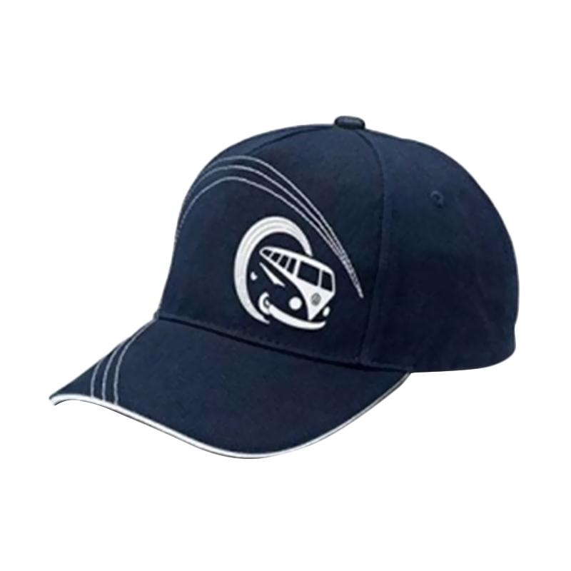 VW Bulli Baseball Cap - Dark Blue