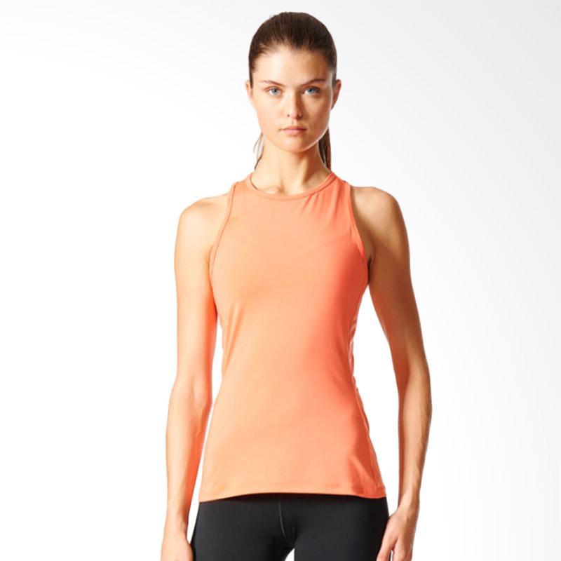 adidas Speed Tanktop Olahraga Wanita - Peach [BK2651]