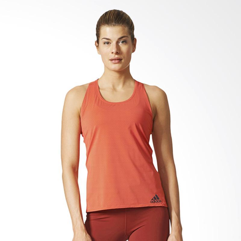 adidas Cap Cill Tanktop Baju Olahraga Wanita - Orange [BP6723]