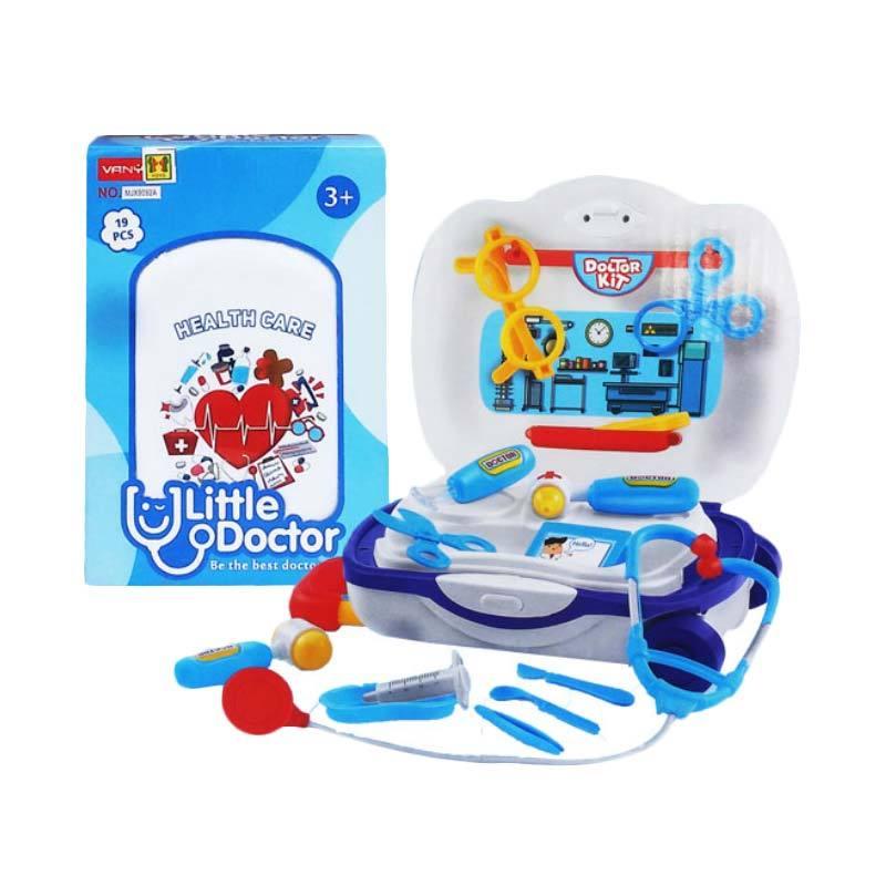 DimSum MJX9092A Little Doctor Trolley Mainan Anak [19 pcs]