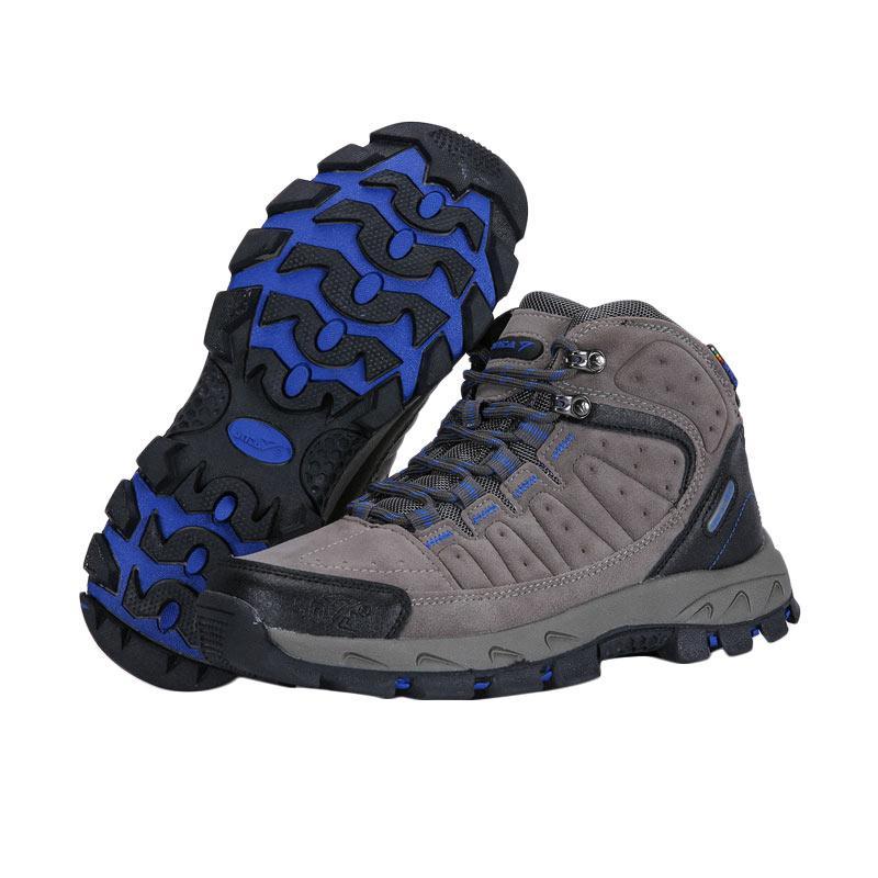 Snta Boots Sepatu Gunung - Grey Blue [483]