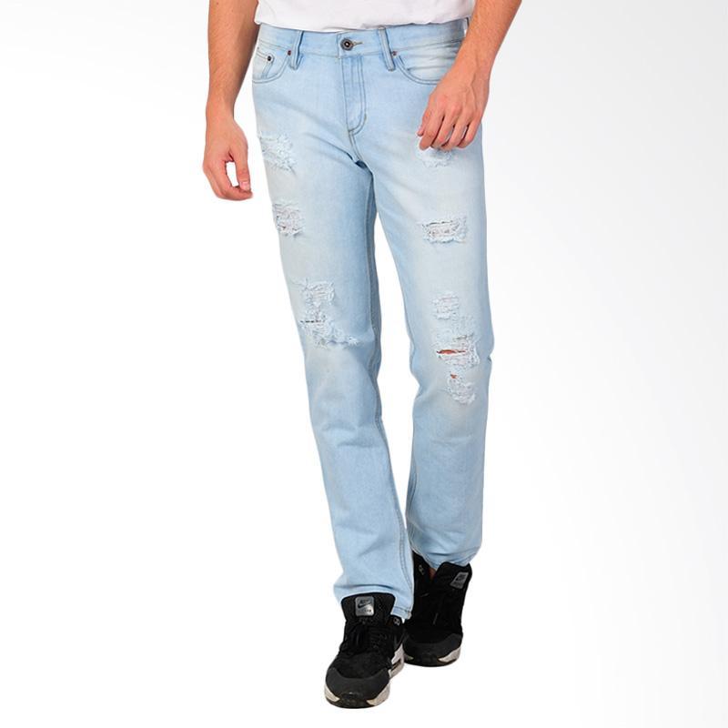 SJO & SIMPAPLY Centrin Men's Jeans - Light Blue