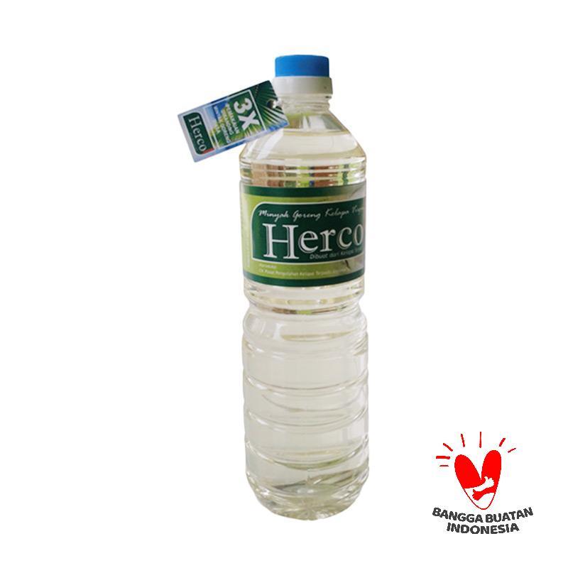 Eka Farm Herco Minyak Goreng Kelapa [1 L]