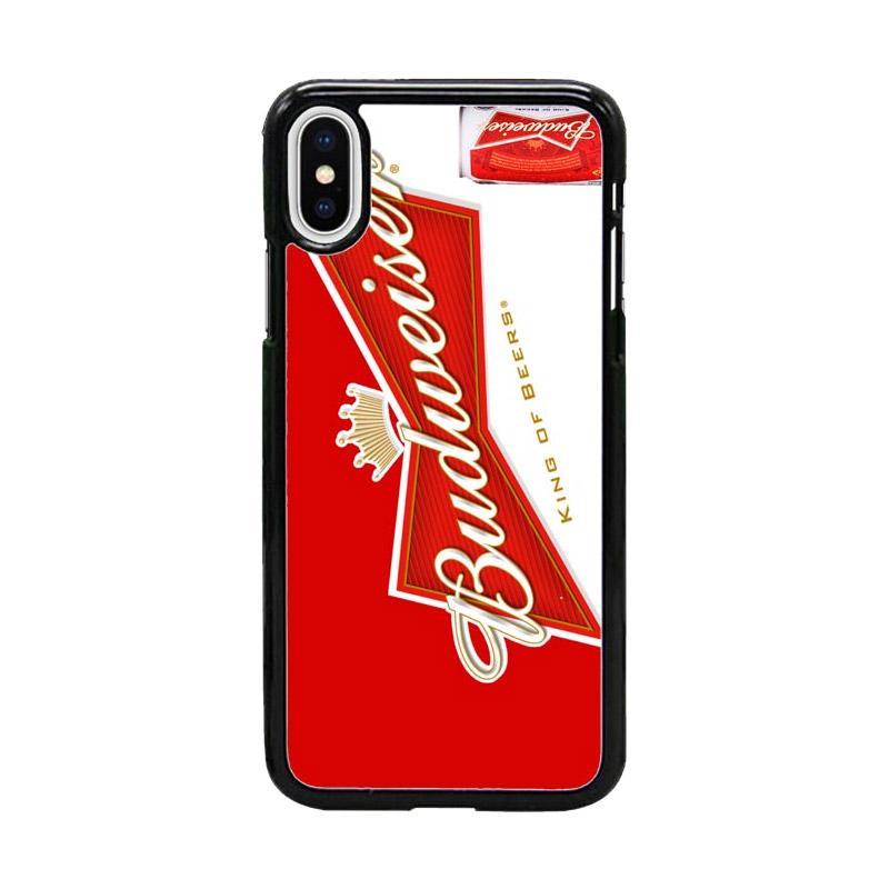 Acc Hp Drink Budweiser America W4915 Custom Casing for iPhone X