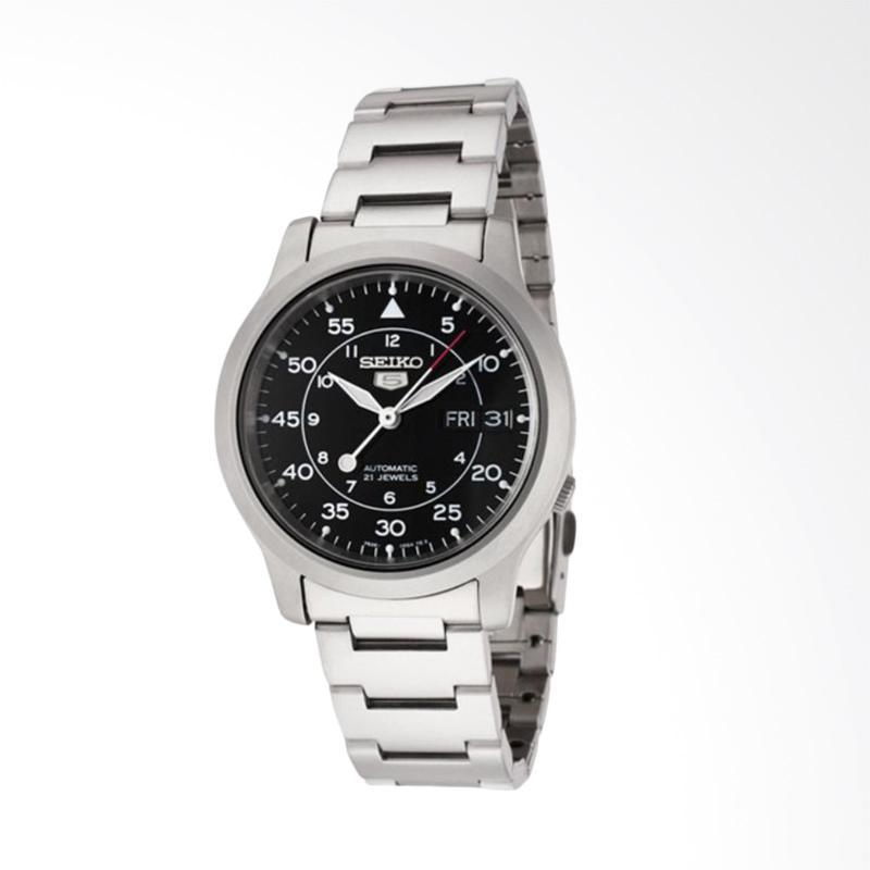 harga Seiko 5 Military Automatic Silver Stainless Steel Bracelet Jam Tangan Pria [SNK809K1] Blibli.com