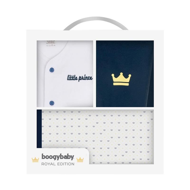 Boogybaby Royal Package Edition His Majesty Boy Setelan Baju Anak