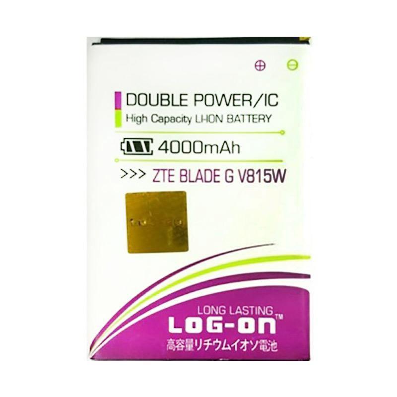 harga Log On Double Power Battery for ZTE BLADE G V815W [4000 mAh] Blibli.com