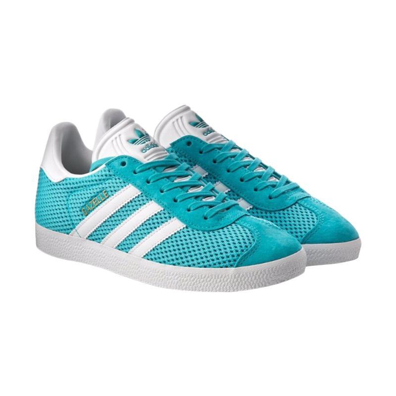 harga adidas Gazelle Sepatu Olahraga Pria - Blue White [BB2761/Original] Blibli.com